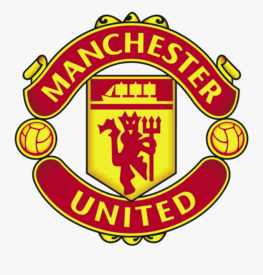 Manchester United Logo Clipart - Kuchalana Dream League Soccer Manchester United Logo, Transparent Clipart