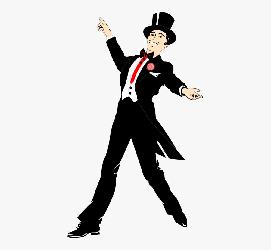 Human Behavior,performing Arts,gentleman - Tap Dancer Clip Art, Transparent Clipart