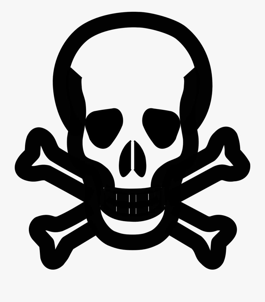 Skull And Crossbones - Skull And Crossbones Posin Transparent, Transparent Clipart