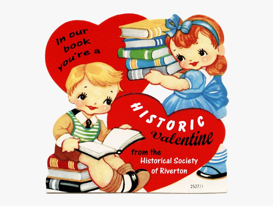 Vintage Valentines Day Love Clip Art, Transparent Clipart