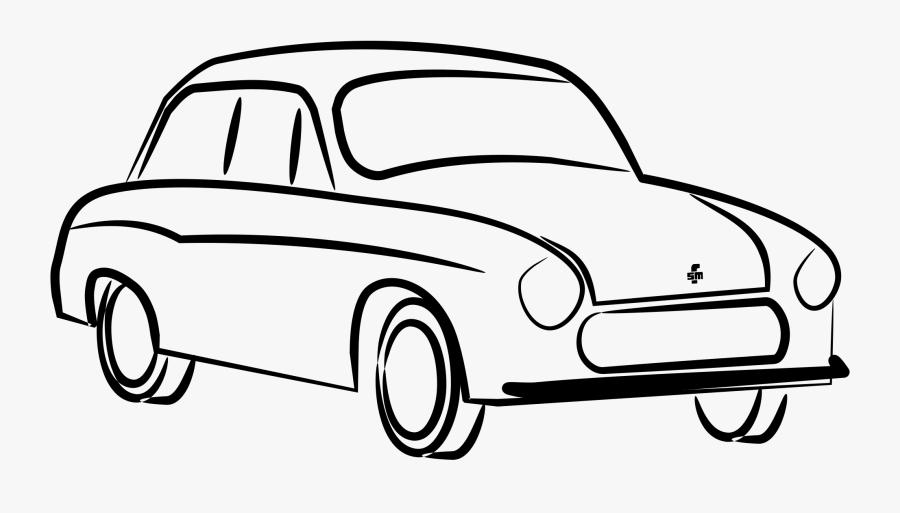 Fso Syrena Sport Car Fso Syrena Sport Vehicle - Syrenka Auto Rysunek, Transparent Clipart