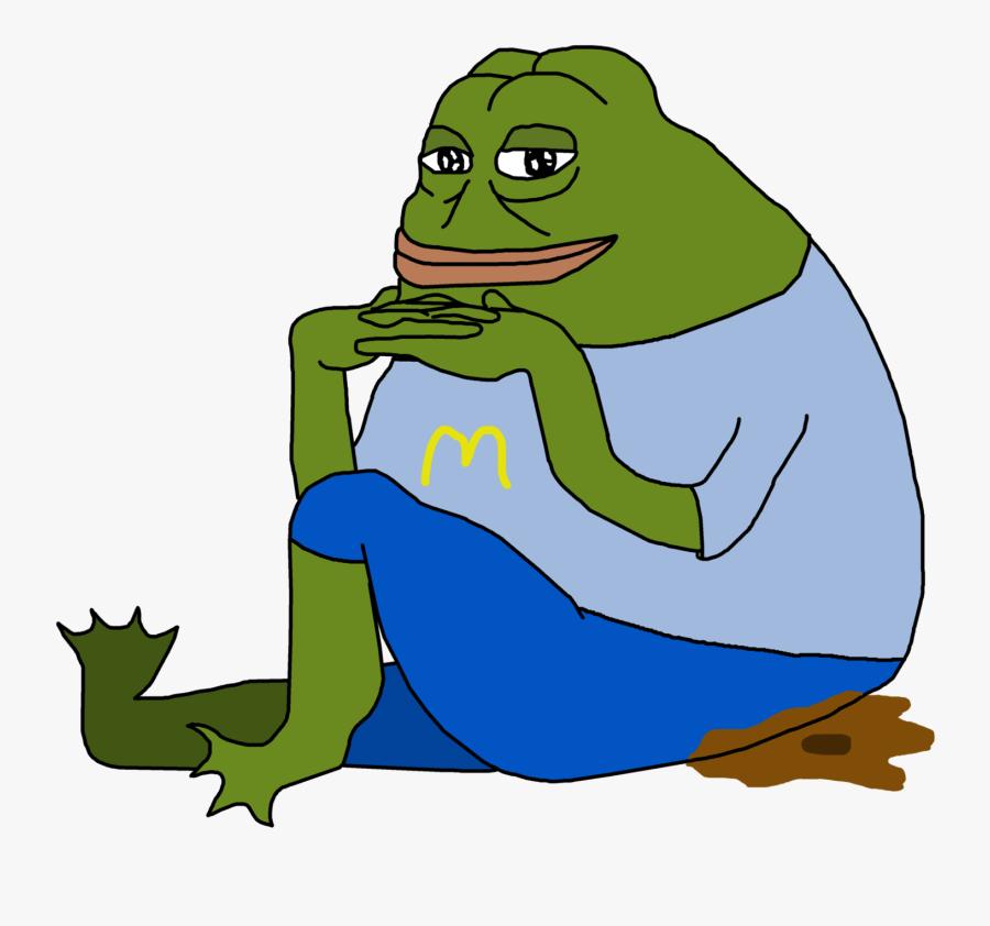 Meme Frog Clipart , Png Download - Toad Meme Transparent Background, Transparent Clipart