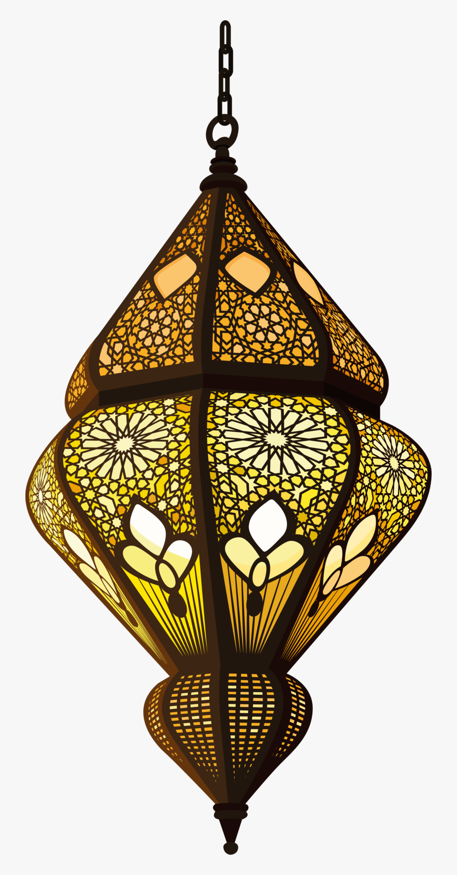 Decorative Muslim Quran Allah Sufism Lamp Islam - Islamic Lantern Png, Transparent Clipart