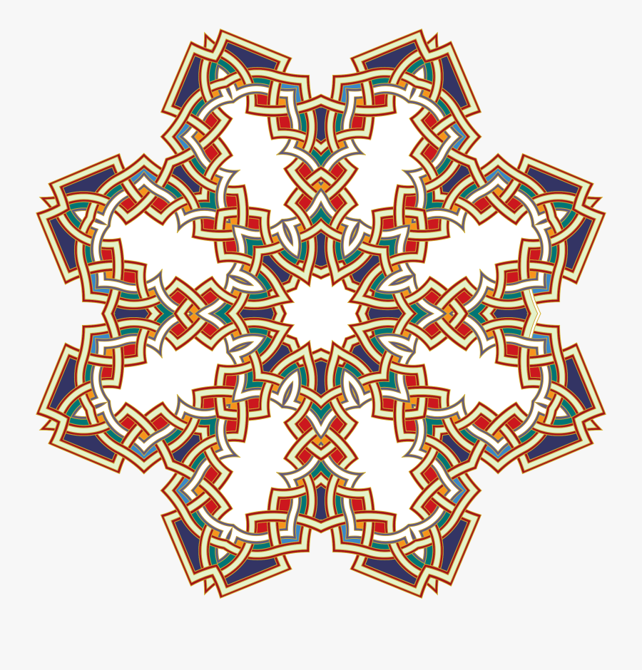 Islamic Design - Islamic Geometric Patterns Png, Transparent Clipart