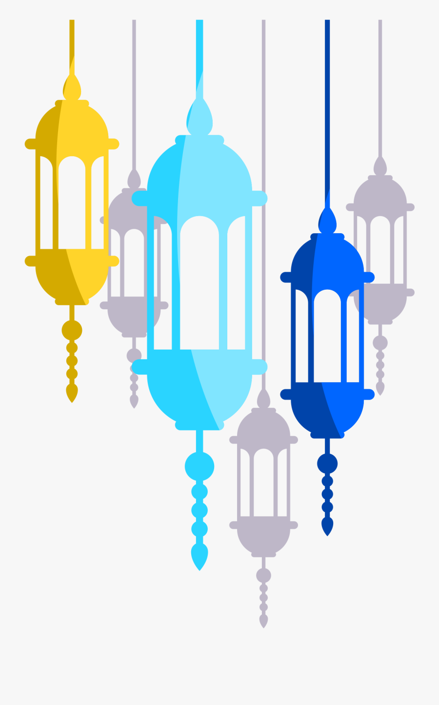 Quran Invitation Lantern Islam Wedding Free Frame Clipart - Lantern Islamic Icon, Transparent Clipart