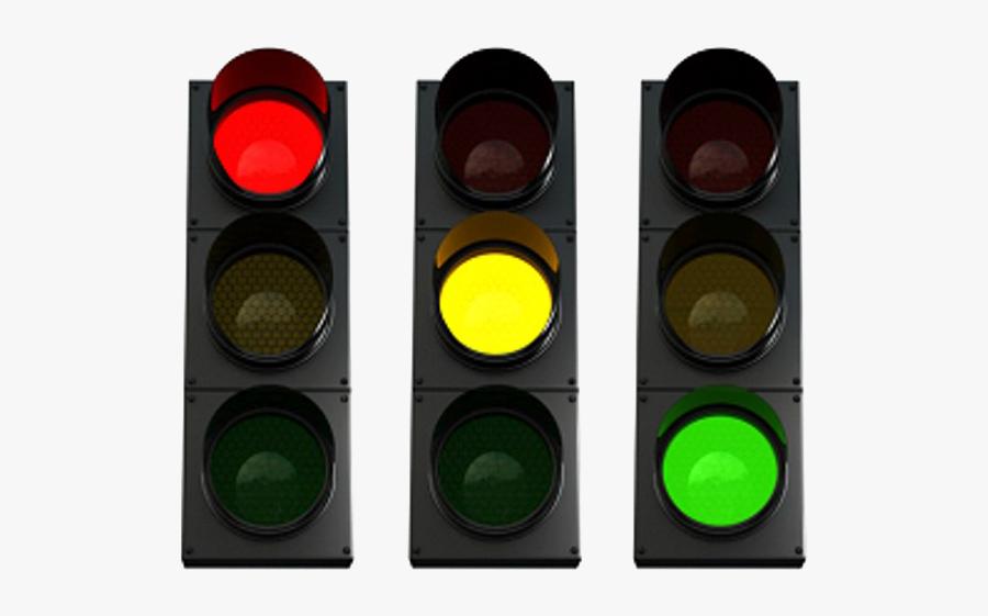 Traffic Light Png Transparent Image - Red Traffic Light Png, Transparent Clipart
