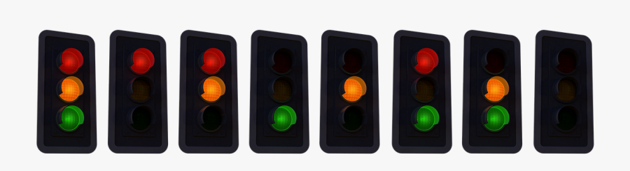 Transparent Traffic Light Clipart - Traffic Light, Transparent Clipart