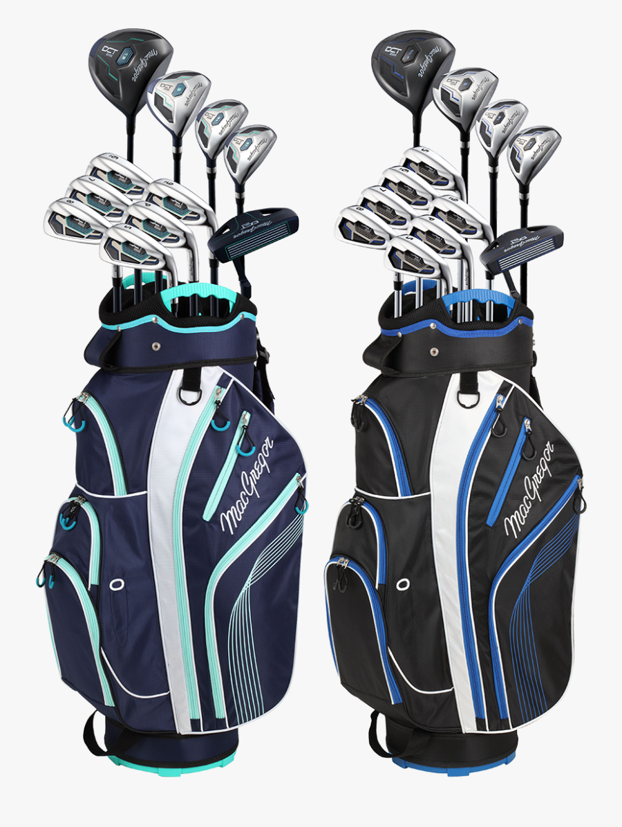 Golf Bag,golf Equipment,golf Club,personal Protective - Golf Bags With Clubs, Transparent Clipart