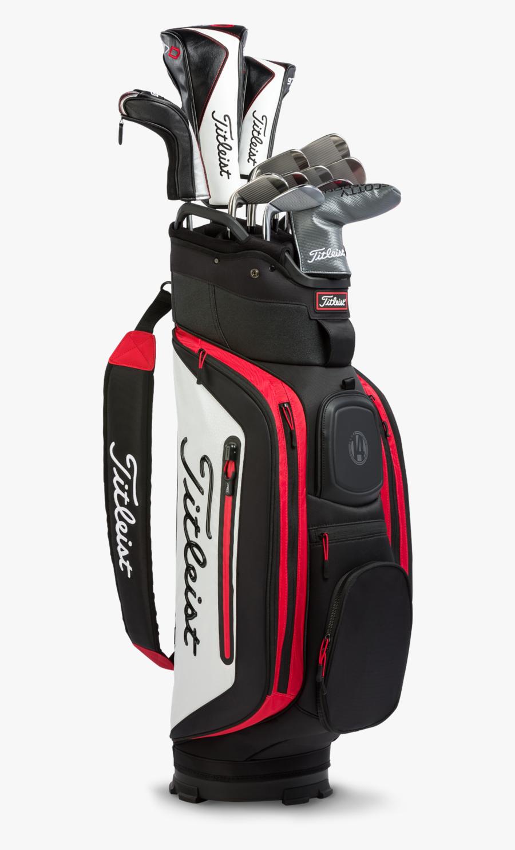 Golf Bag Pictures - Titleist Golf Bag 14, Transparent Clipart