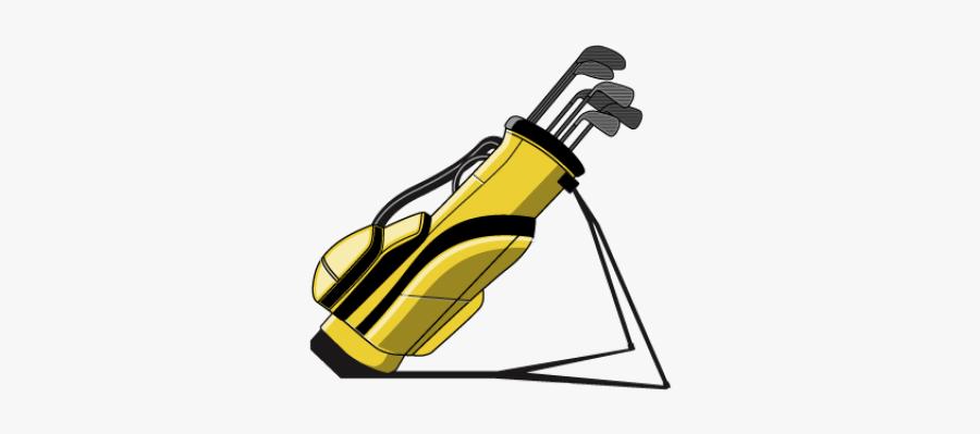 Golf Bag Clipart - Golf Bag Clipart No Background, Transparent Clipart