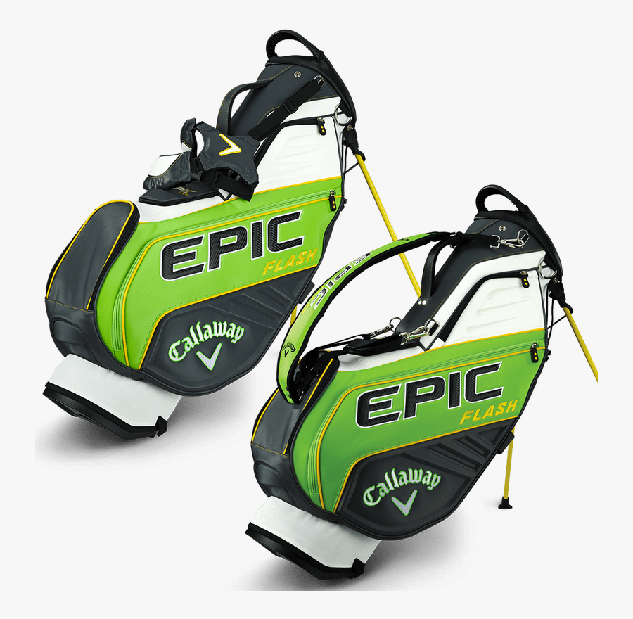 Callaway Golf Bags 2019 Clipart , Png Download - Callaway Epic Flash Stand Bag, Transparent Clipart