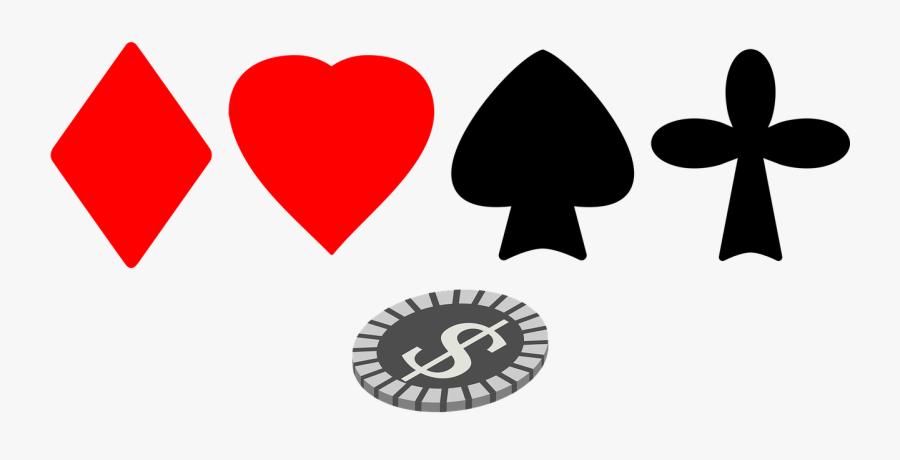 Suit Gambling Cards Free Picture - Jeux D Argent Png, Transparent Clipart