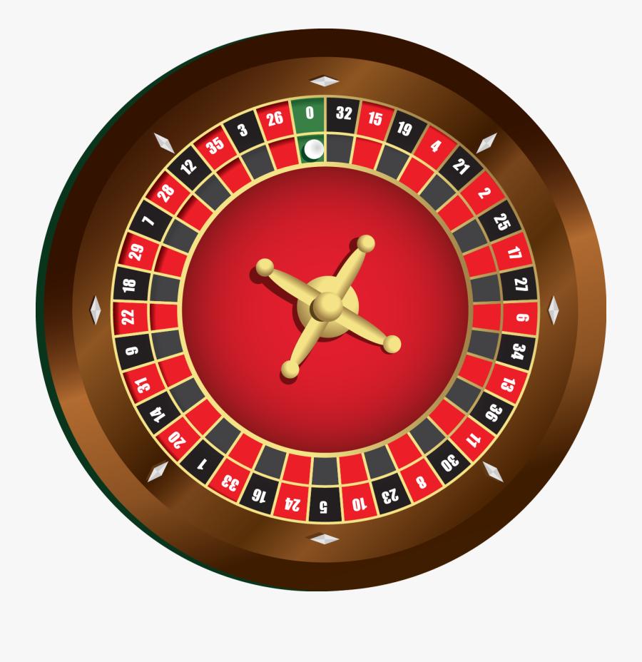Roulette2 - Clip Art Casino Roulette, Transparent Clipart