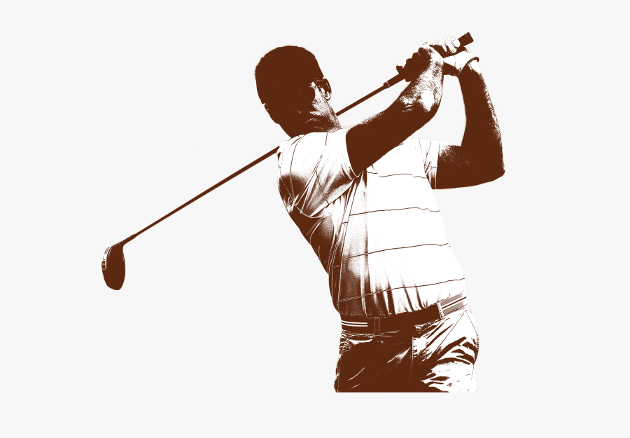 Transparent Golf Player Clipart - Golf Player Png, Transparent Clipart