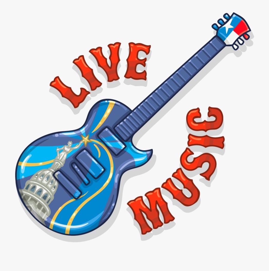 Transparent Live Clipart - Live Music Sign Transparent, Transparent Clipart