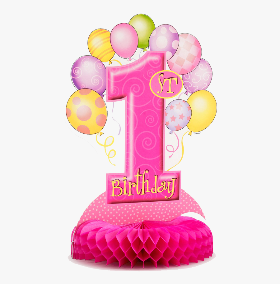 Transparent First Birthday Clipart - Happy Birthday Wishes 1st Birthday, Transparent Clipart