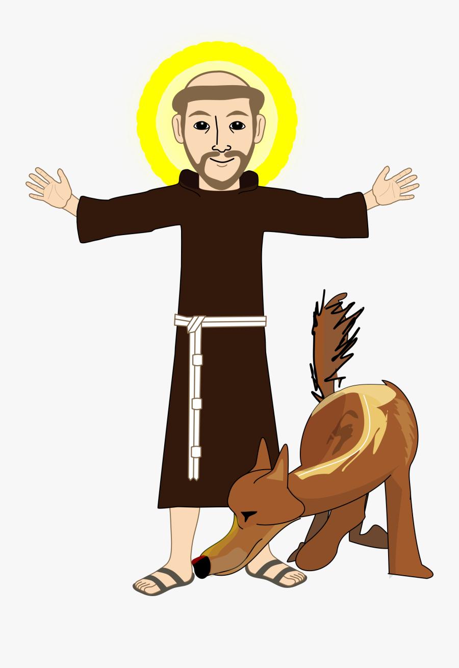 Human Behavior,toddler,art - Saint Francis Of Assisi Png, Transparent Clipart