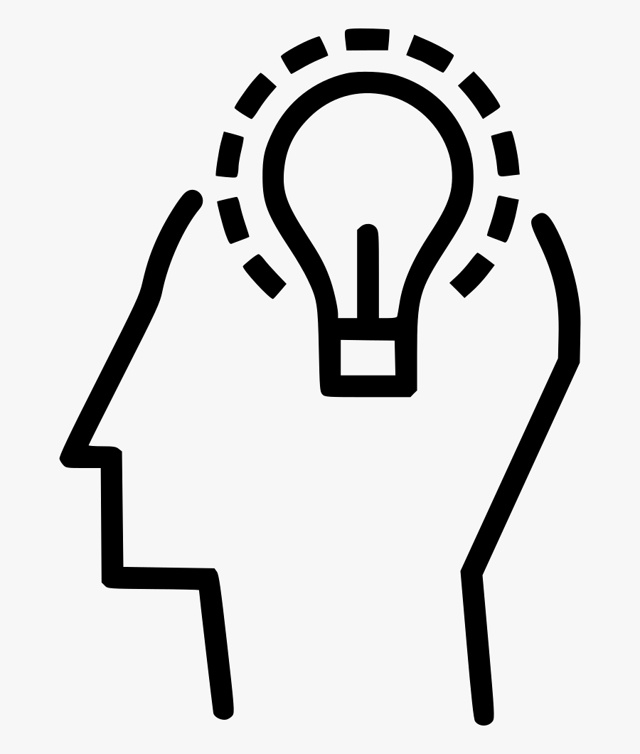 Man Manpower Business Idea Innovation Invention Power - Innovation Icon Png, Transparent Clipart