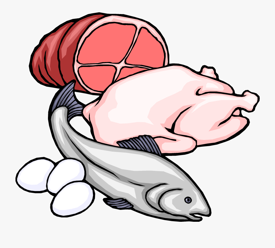 Carbohydrates Drawing At Getdrawings - Fish And Meat Clipart, Transparent Clipart