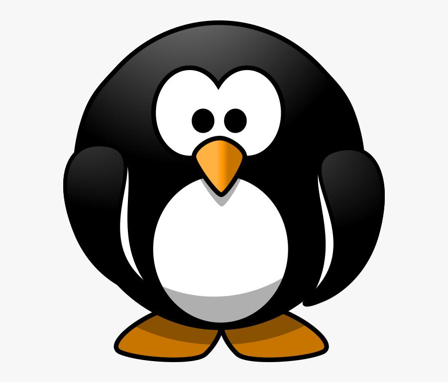 Flightless Art - Happy Birthday Penguin Clip Art, Transparent Clipart