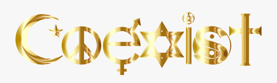 Baby In Gold Letter, Transparent Clipart