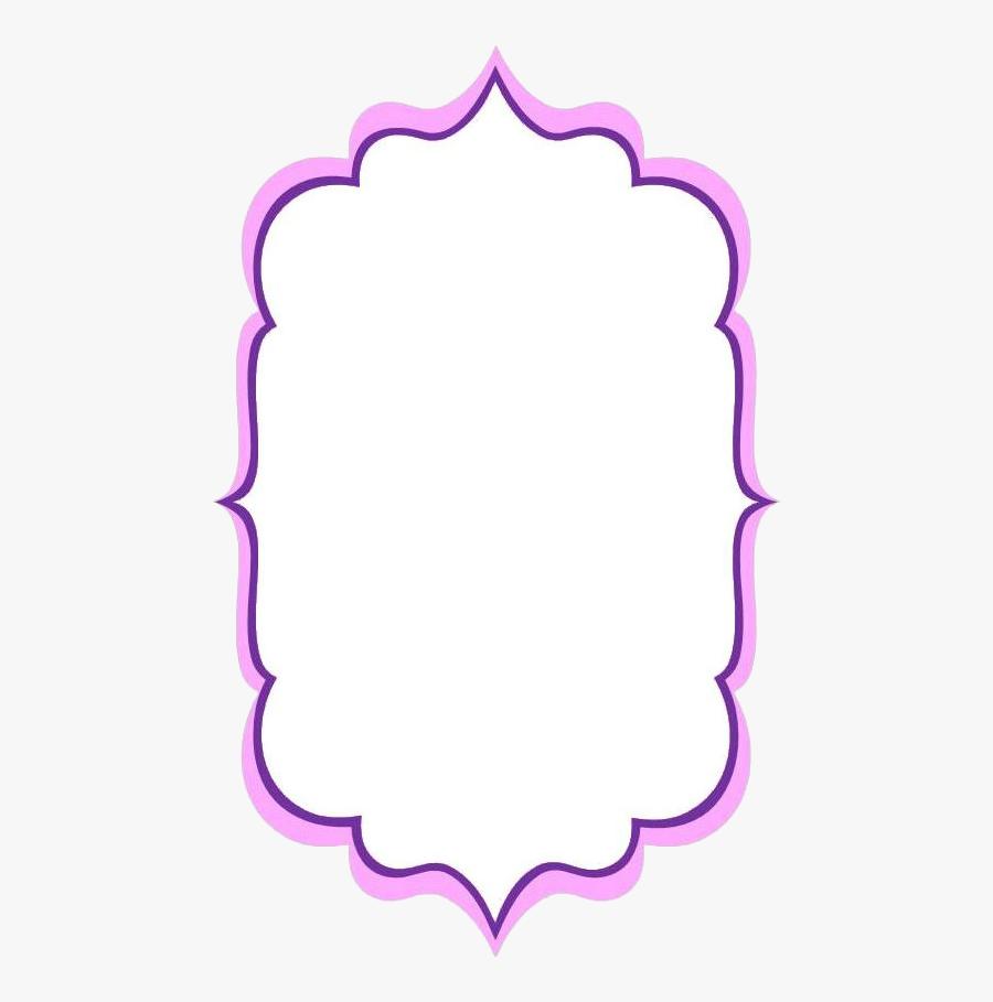 Clip Art Frame - Circle, Transparent Clipart
