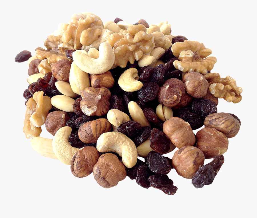 Mixed Nuts,food,snack,dried & Seeds,fruit,natural Foods,sultana - Seeds And Nuts Png, Transparent Clipart