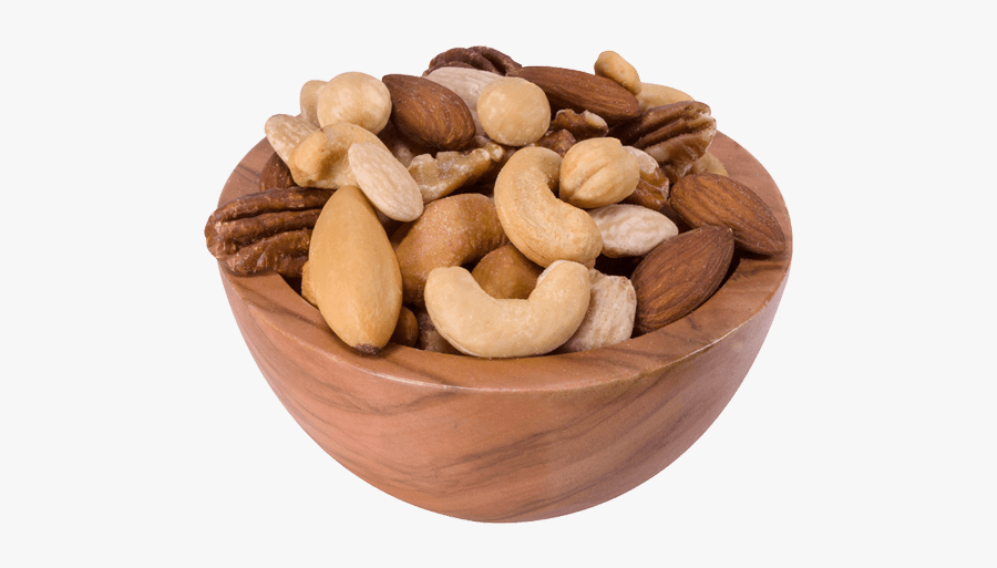 Nut,mixed Nuts,food,cashew,nuts & Family,brazil Nut,bowl,trail - Nut Png, Transparent Clipart