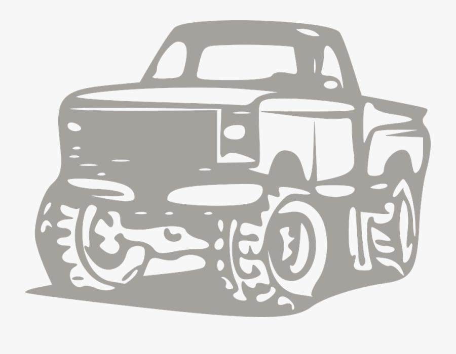 Transparent Truck Clipart - Transparent, Transparent Clipart