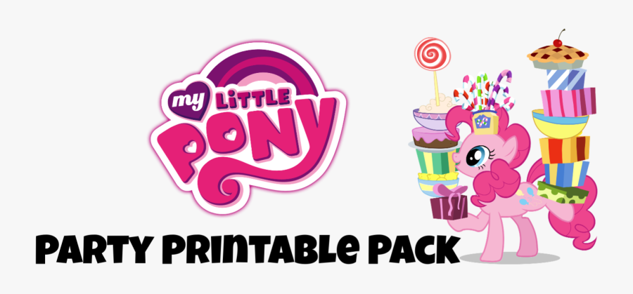 My Little Pony Printable Party, Transparent Clipart