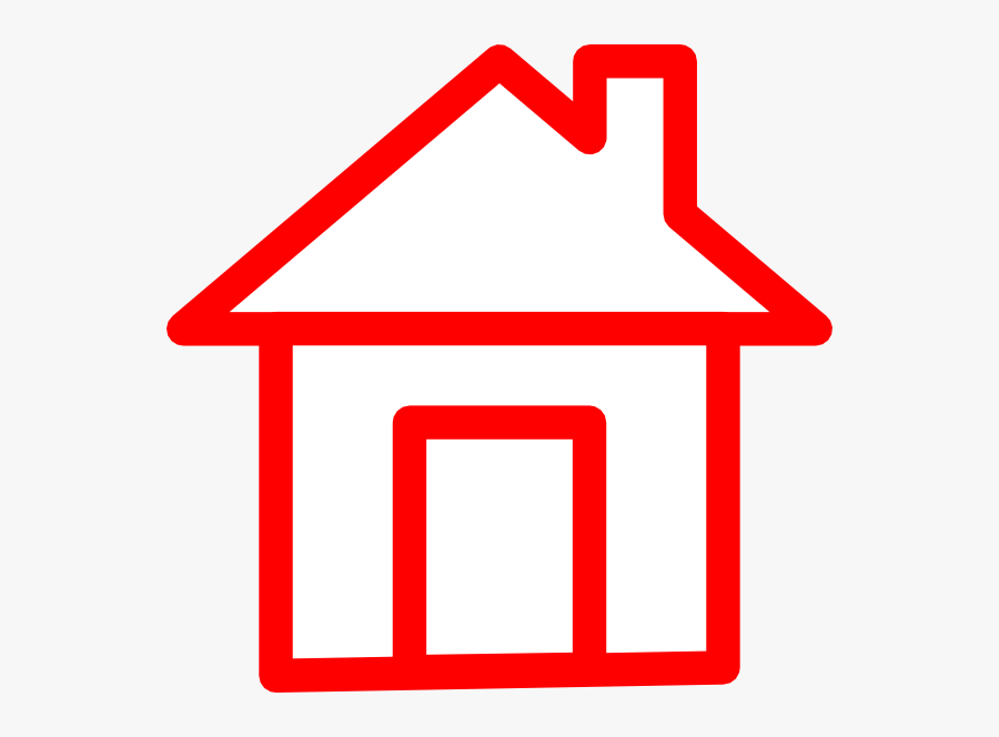 Home Clipart Red House - Home Red Clip Art, Transparent Clipart