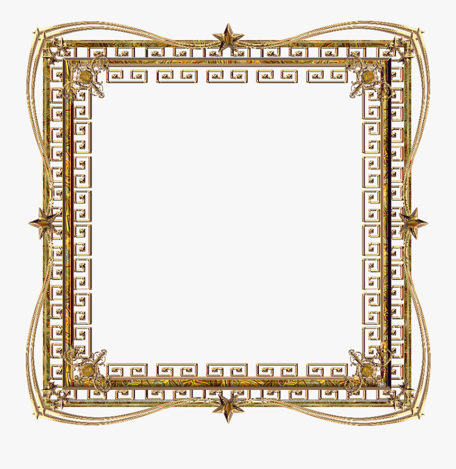 Yellow Png Gold Picture - Square Frame Pngs, Transparent Clipart