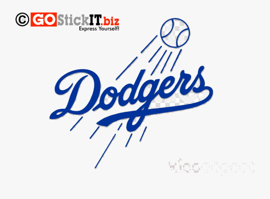 Dodgers Los Angeles Clipart Dodger Stadium Logo Transparent - Angeles Dodgers, Transparent Clipart