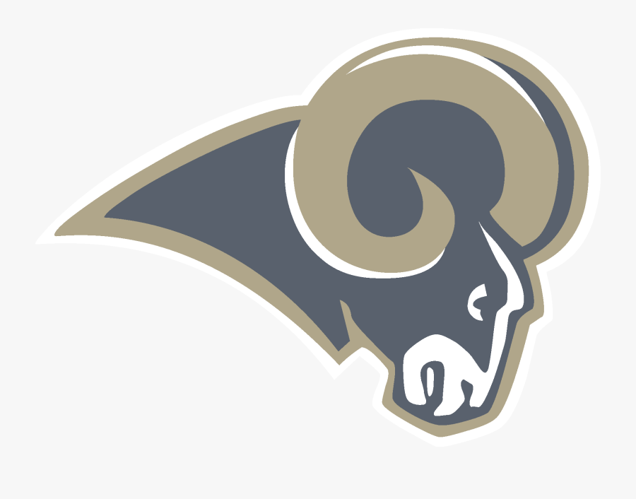 Los Angeles Rams Logo [st - Los Angeles Rams Old Logo, Transparent Clipart
