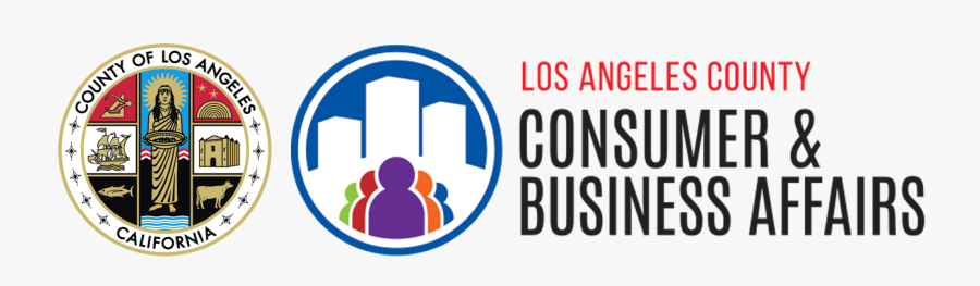 Transparent Consumer Clipart - Seal Of Los Angeles County, California, Transparent Clipart