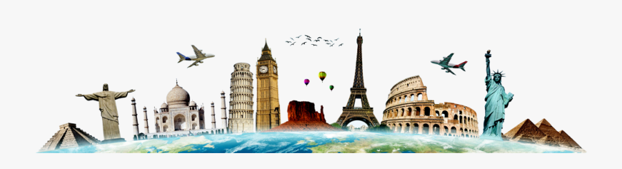 Travel Png Photos - Travel The World Hd, Transparent Clipart