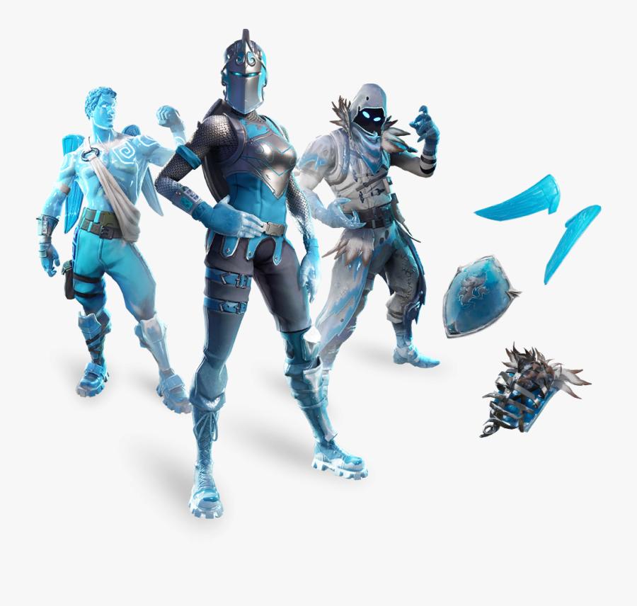 Skin Frozen Bundle - Fortnite Frozen Legends Pack, Transparent Clipart