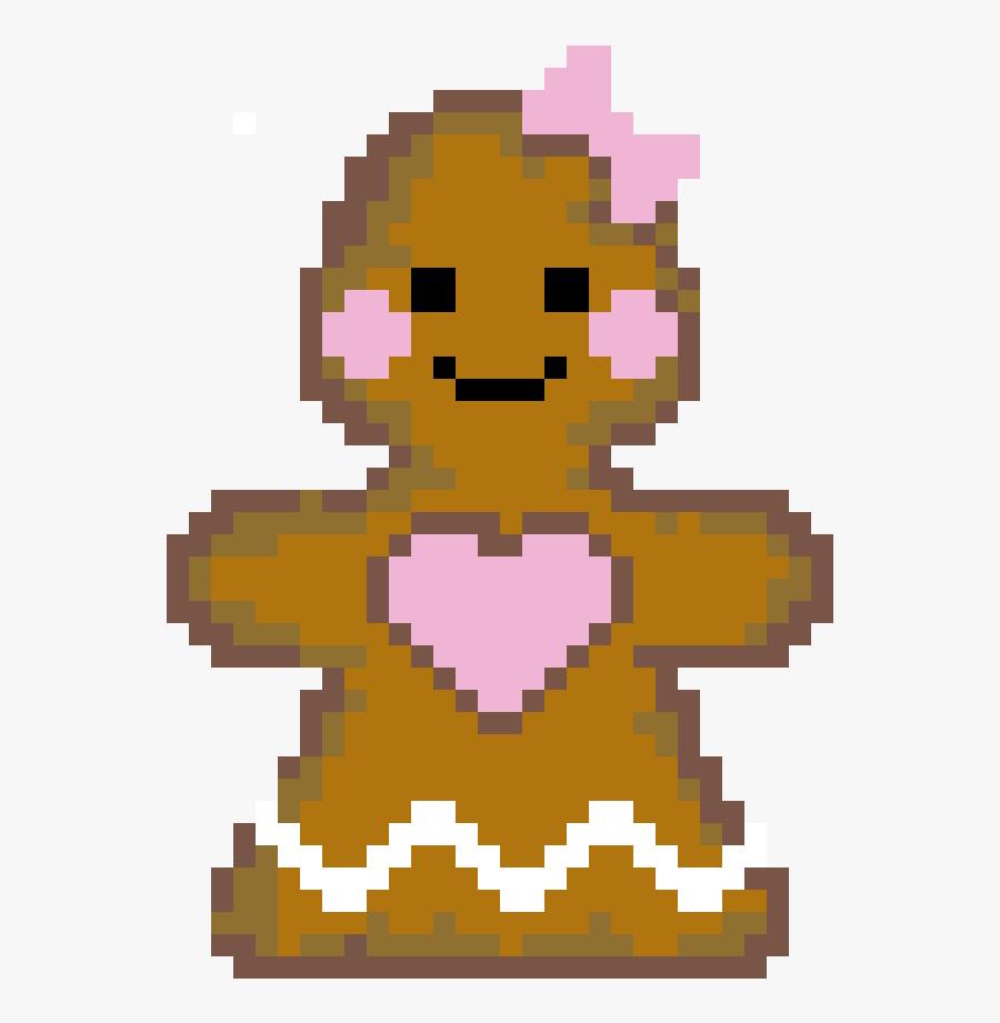 Transparent Gingerbread Girl Png - Mortal Kombat Smoke 8 Bit, Transparent Clipart
