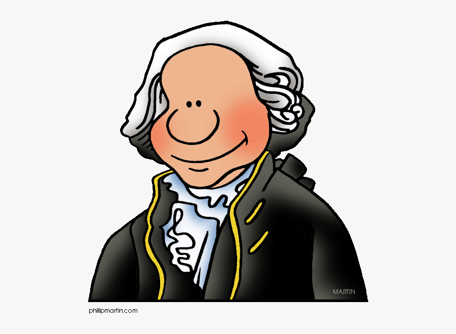 Colonial America Clip Art By Phillip Martin, George - George Washington For Kids, Transparent Clipart