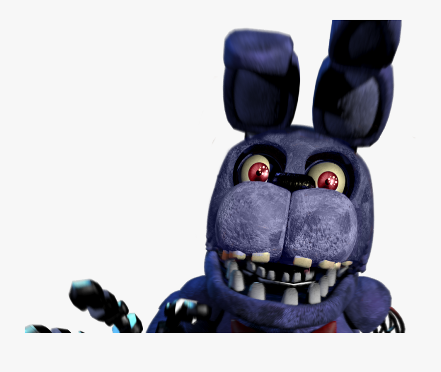 Continue Button Games Fnaf Fnaf Unwithered Bonnie Jumpscare Free Transparent Clipart Clipartkey