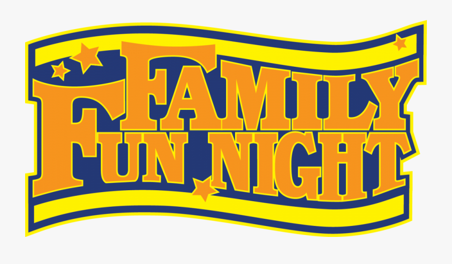 Family Fun Night Logo - Family Fun Night Clipart Free, Transparent Clipart