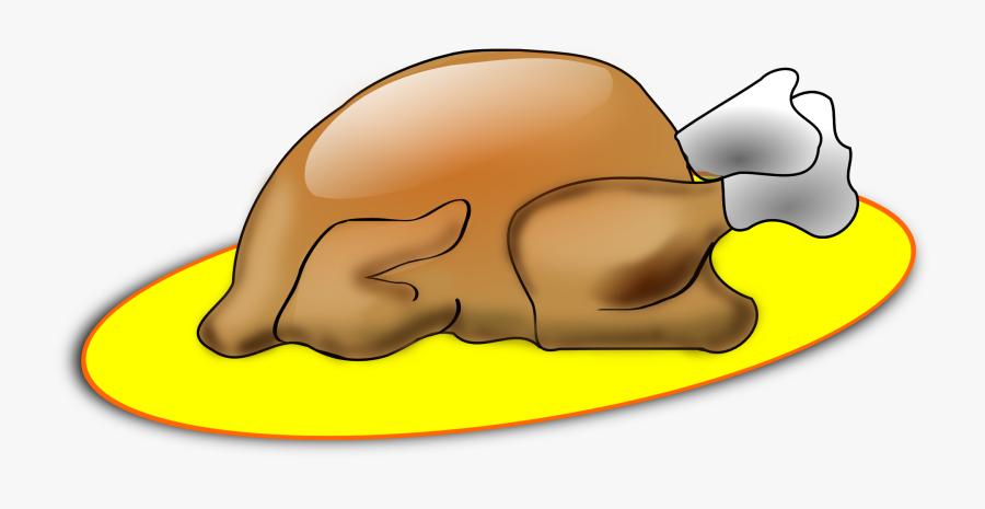Food Headgear Yellow Gambar Ayam Bakar Kartun Free Transparent