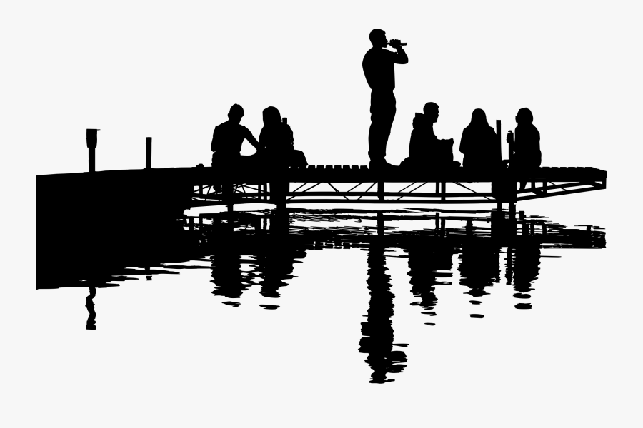 Photography - Lake Silhouette Png, Transparent Clipart