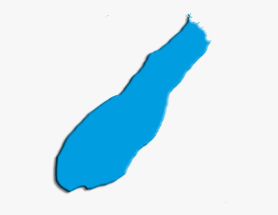 Laguna Jara Map - Lake On Map Clip Art, Transparent Clipart