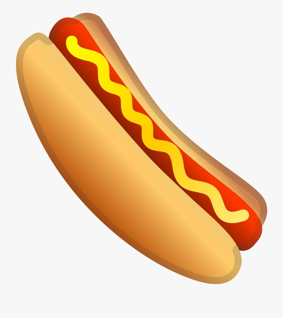 Hot Dog Icon - Transparent Background Hot Dog Clip Art, Transparent Clipart