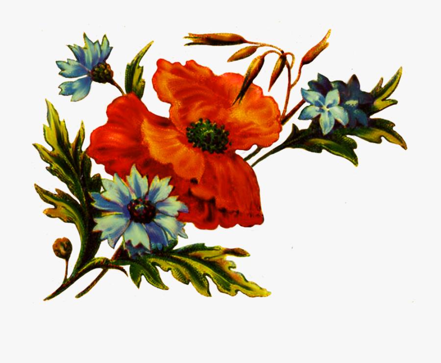 Floral Clipart For Decoration - Vintage Tarjetas De Presentacion, Transparent Clipart