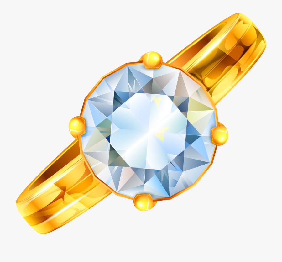 Diamond Ring Clipart Diamond Clipartfest Ring - Ring Diamond Clipart, Transparent Clipart