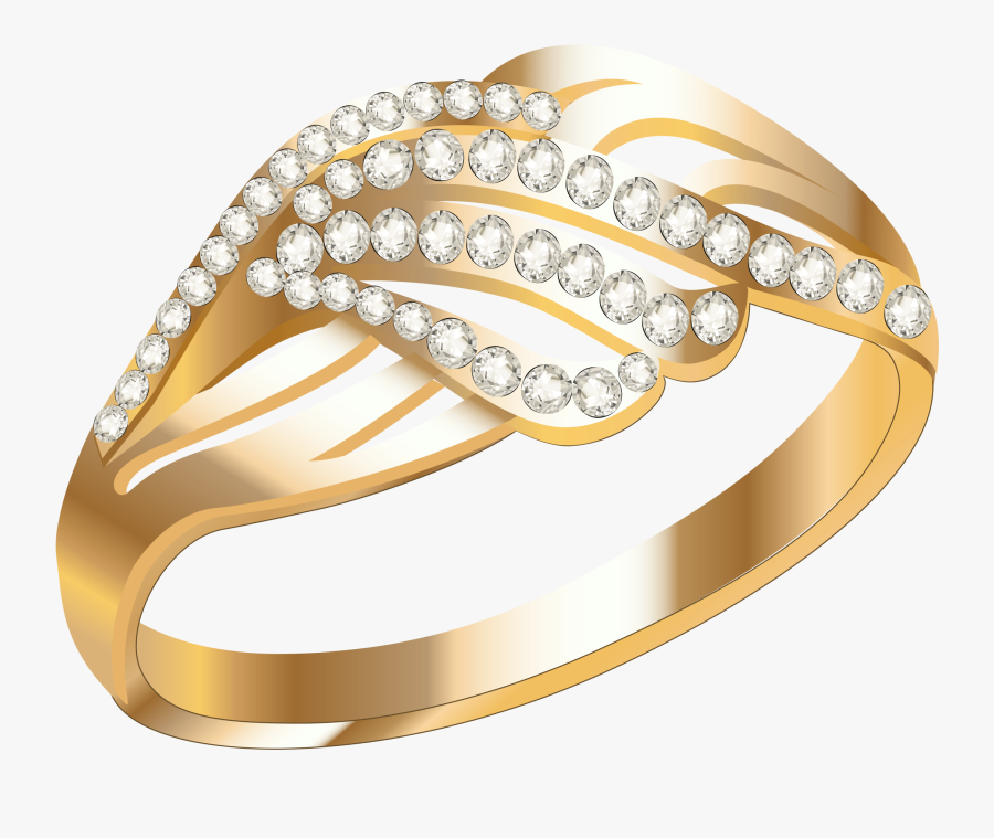 Gold Ring Images Download, Transparent Clipart