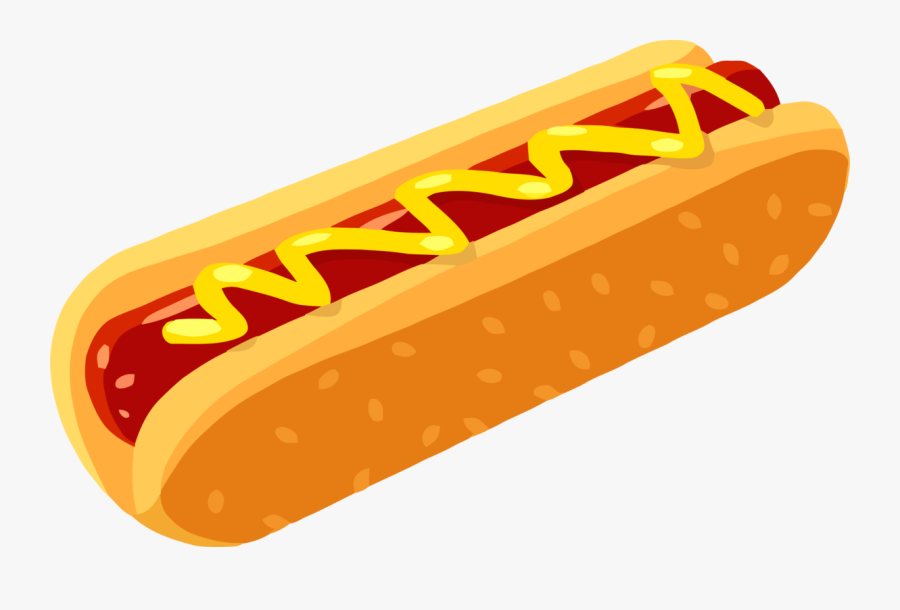 Sausage,american Food,hot Dog - Transparent Background Hot Dog Icon Transparent, Transparent Clipart