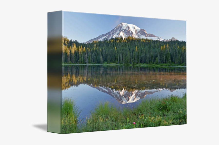 Clip Art Mount Rainier Above A - Summit, Transparent Clipart